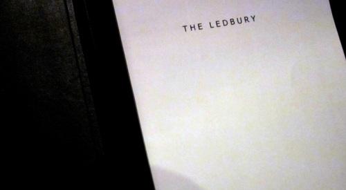 Ledbury wine list